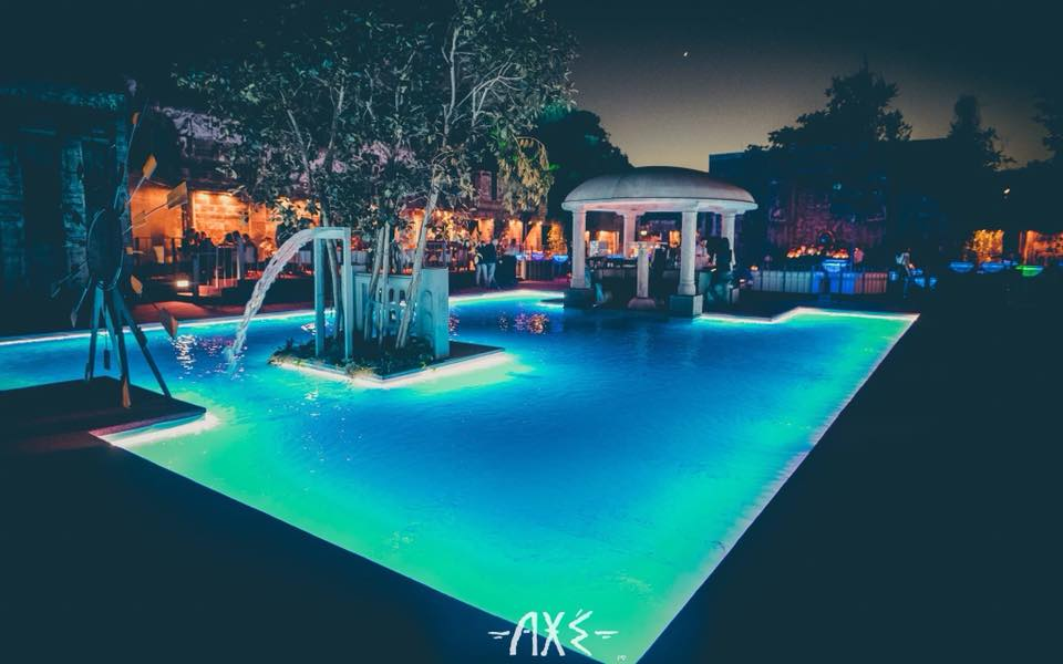 Axe – Villa Borghese